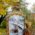 Hunting in the end :) - Decorated bottles - making