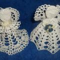 Christmas Angels - Lace - needlework