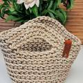 Crocheted handbag for everyday, size S - Handbags & wallets - needlework