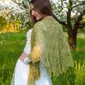 Knitted shawl - Wraps & cloaks - knitwork