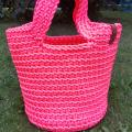 Crocheted handbag for everyday, size M - Handbags & wallets - needlework