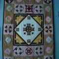 "Patchwork for home "" Poker table"" - For interior - sewing"