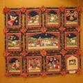 "Patchwork for home ""Christmas' - For interior - sewing"