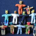 little textail bears - Dolls & toys - sewing