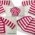 Merino wool sweater for girl. - Children clothes - knitwork
