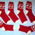 Reindeer wool socks - Socks - knitwork
