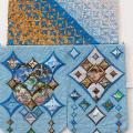 "Patchwork ""Shouting of Birthplace"" - For interior - sewing"