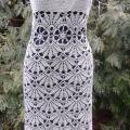 "Crochet dress ""Sea shell"" - Dresses - needlework"