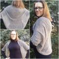 Linen shrug - cardigan - Sweaters & jackets - knitwork