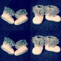 Crochet Baby Boots 11 - Shoes - needlework