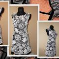 "Dress ""Flower bouquet"" - Dresses - needlework"