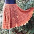 Flares lace skirt - Skirts - knitwork