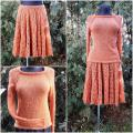 Hand knitted skirt suit - Other knitwear - knitwork
