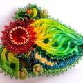 brooch Spring joy - Brooches - beadwork