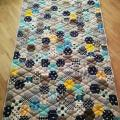 Handmade quilt for a boy 2 - For interior - sewing