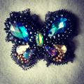 Brooch ''Butterfly'' - Brooches - beadwork