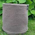 Basket from the rope - Lace - needlework