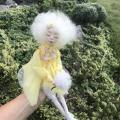 Polymer clay doll, - Dolls & toys - making