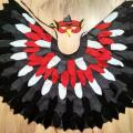 Woodpecker children's carnival costume: cloak and mask. Size is universal. Other - Other clothing - sewing