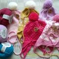 Children's hat - Machine knitting - knitwork
