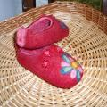 Beads - Shoes & slippers - felting